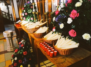 Blessed candles for every family in the parish