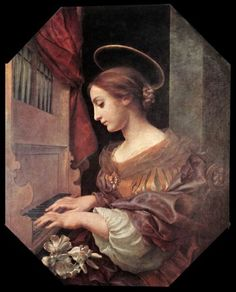 Saint Cecilia by Agnes Dolci Nice try Michael!